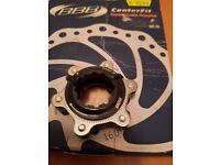 Disc brake adapter center lock to 6 bolt New