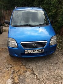 Spares or repair Suzuki wagon r +