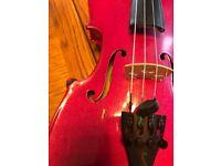Beautiful Pink 1/2 size Primavera Violin