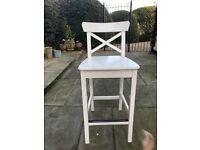 Ikea bar stools x3