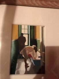 """Study For """"Lurking"""" Watercolour Lesley Banks"""