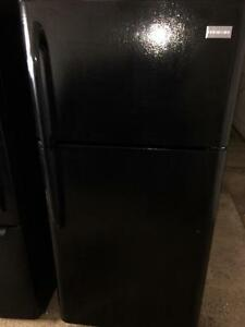 Frigidaire Black Fridge, Free 30 Day Warranty