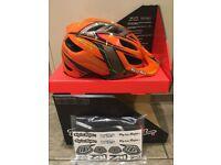Troy Lee Designs A1 Helmet. MTB Helmet. Turbo Orange. (XL 60-62cm). BRAND NEW!