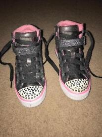 Twinkle Toes Sketchers Size 10 Girls