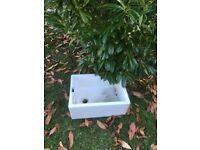 Belfast Sink . Ideal Garden Pot