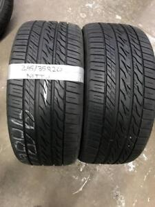 245/35R20 NITTO ALL SEASON TIRES (PAIR) Calgary Alberta Preview