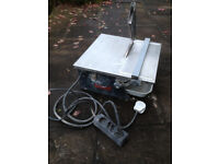 German-made wet tile saw with diamond blade LAST CHANCE BEFORE CHRISTMAS