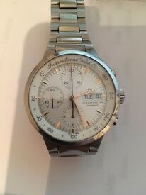 IWC GST Chronograph IW3707 Auto 40mm Steel Mens Bracelet Watch Day Date