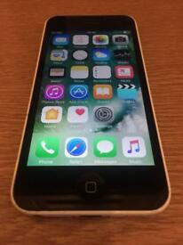 White iPhone 5c ( unlocked, free delivery, more phones)
