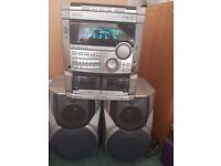 Aiwa NSX-S777 Hi-Fi, remote control