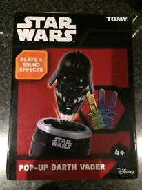 BNIB Tomy Pop Up Pirate Darth Vader