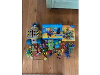 Collection of children's toys
