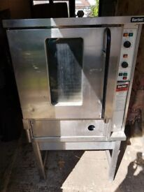 Bartlett Sabre E16G Gas Convection Oven with stand
