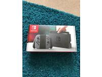 Nintendo switch with u switch game. Out the box once