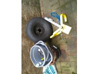 Milenco wheel clamp - 8 - 10 inches wheels suit trailer