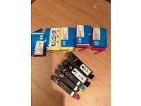 GENUINE INK CARTRIDGES 364XL - 2x magenta, 2x yellow, 1 unopened. + 5 opened but hardly used.