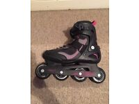 Inline skaters size 7 used once