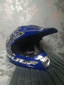 Wolfsport Motocross Helmet Childs