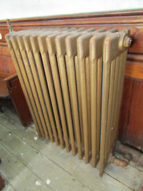 CAST IRON 5 COLUMN RADIATORS