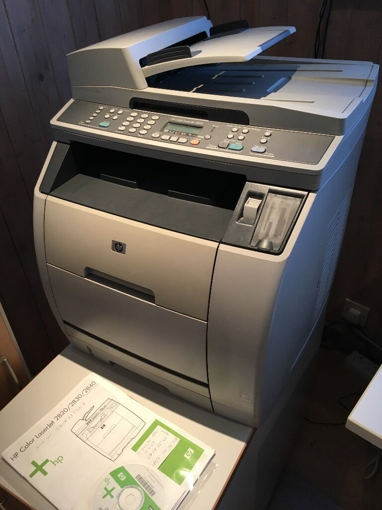 HP Color LaserJet 2840 Network All In One Colour Laser Printerin Teddington, LondonGumtree - For Sale HP Color LaserJet 2840 Network All In One Colour Laser Printer Print/Copy/Scan/Fax/Network I am selling this LaserJet printer as we use our smaller InkJet printer. It hasnt been used for a while, and needs some color toner. It prints in...