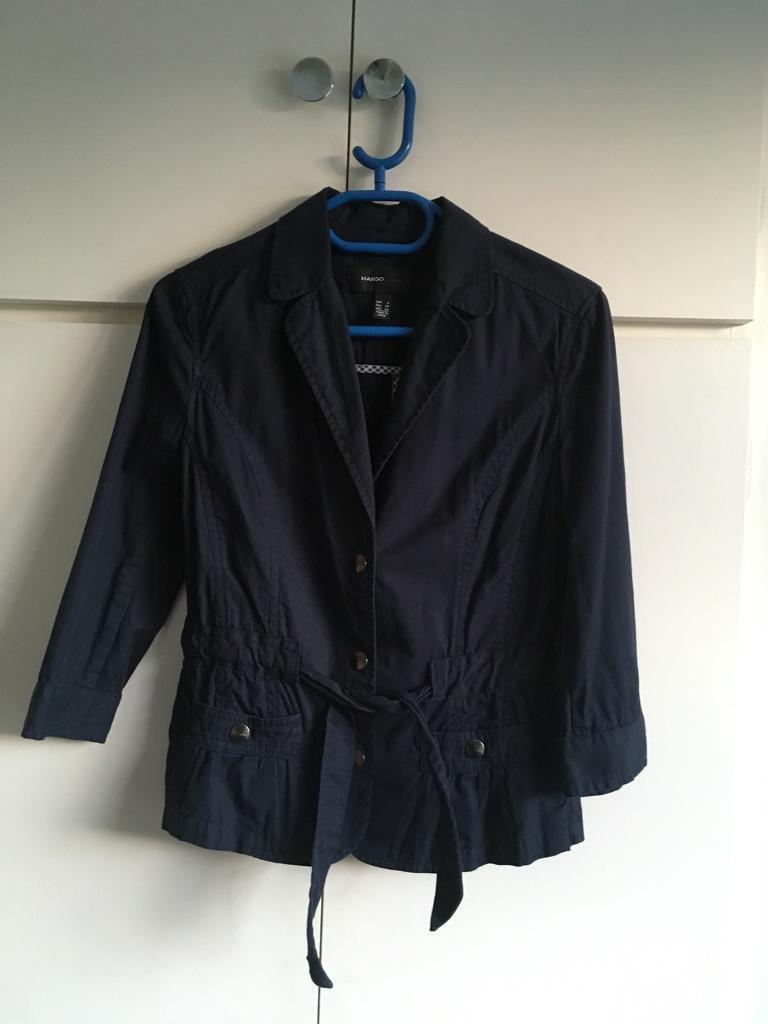 Mango casual blazer for sale size 8