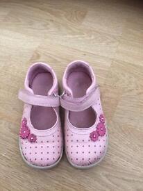 Start rite girls shoes daisy light pink infant size 6.5 6 1/2 G