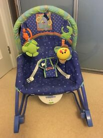 ROCKER Fisher Price Linkadoos infant to toddler rocker with calming vibrations