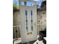 Complete upvc door