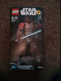 LEGO Star Wars 75116 Finn buildable action figure - brand new in box (BNIB)