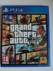 GTA V (Grand Theft Auto 5) PS4 game