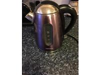 Morphy Richards Purple Kettle