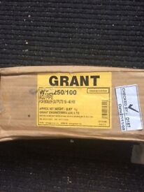 Grant adjustable flue extension