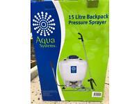 15 L backpack pressure sprayer