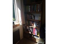 Ikea pine bookcase, other matching furniture available
