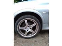 Wheels for peoguot 1.4 alloys
