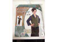 Boys Victorian School Boy Fancy Dress Kids Costume £5