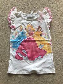 Princess 5-6 years Disney store top