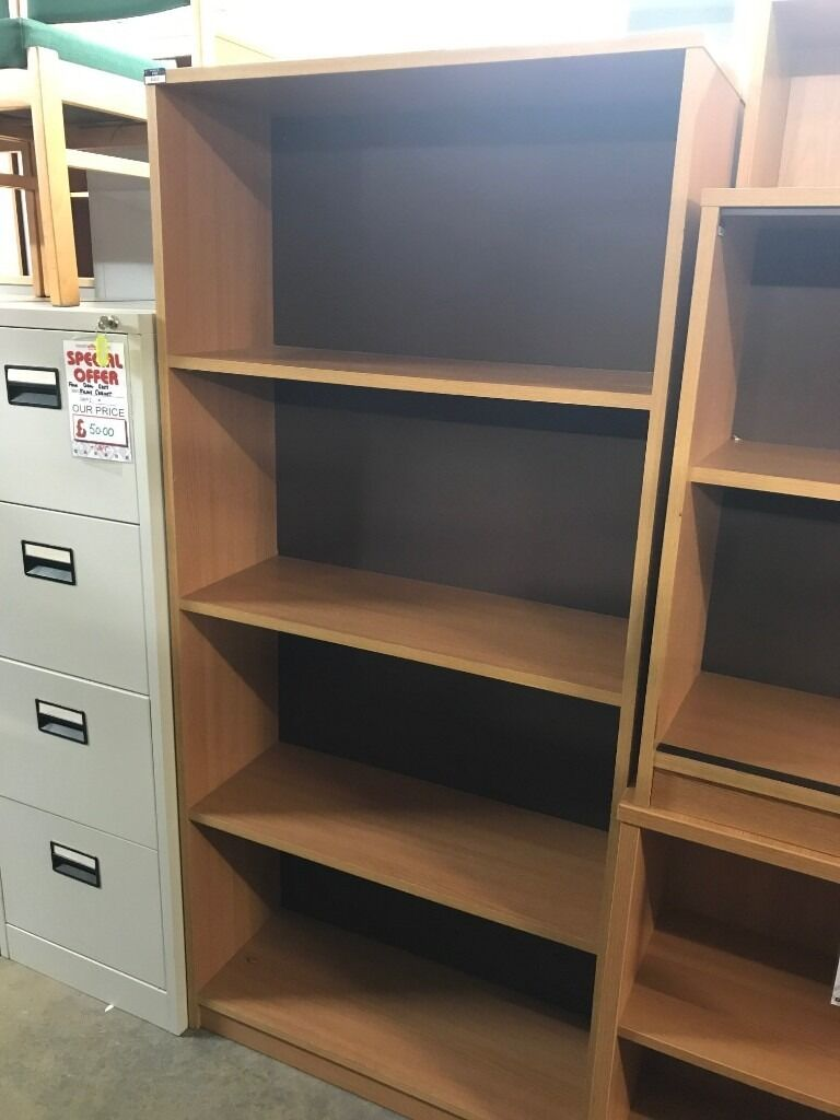 Bookcase, With 3 Shelves. Finished In Oak. 1650mm Height x 770mm Width x 300mm Depth. 11 In Stockin Norwich, NorfolkGumtree - Bookcase, With 3 Shelves. Finished In Oak. 1650mm Height x 770mm Width x 300mm Depth. 11 In Stock. Free delivery for Norfolk & Suffolk