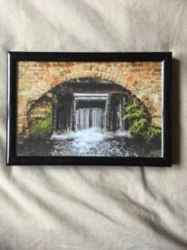 6x4 Waterfall Photo - Framed