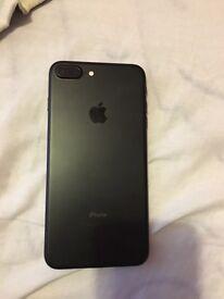 Apple iPhone 7 plus black 32gb