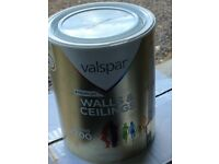 2 Tins of Valspar paint