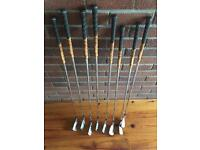Callaway x forged irons 3-pw