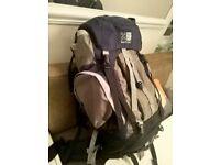 karrimore cougar SA cool mesh 65+15 rucksack (£80 new) excellent central London bargain