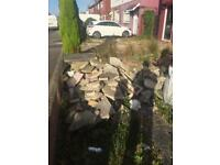 Paving Rockery / slabs FREE