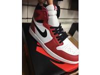 Nike air Jordan white/red 6,7,8,9,10,11