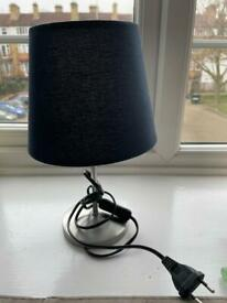 IKEA bedside lamp with globes