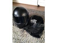 Bandit motorcycle helmet