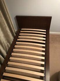 Next single bed with memory foam mattress