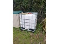 Ibc water tank 1000l jet wash car wash tank