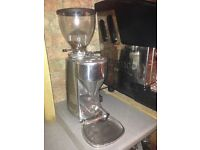 2 group coffee machine, & electric grinder, all in working order
